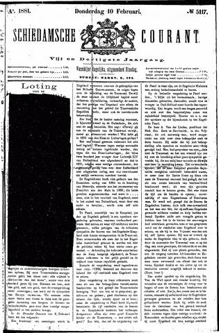 Schiedamsche Courant 1881-02-10