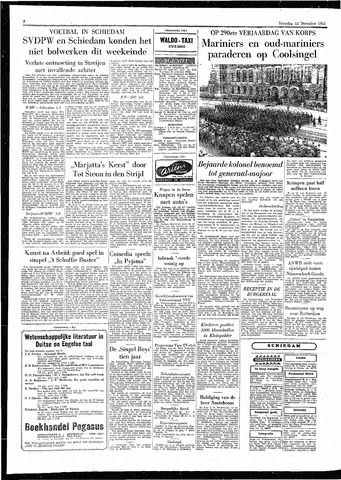 Rotterdamsch Parool / De Schiedammer 1955-12-12