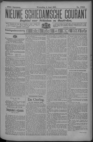 Nieuwe Schiedamsche Courant 1917-06-06