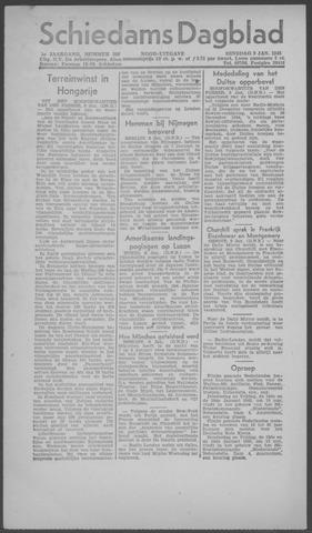 Schiedamsch Dagblad 1945-01-09