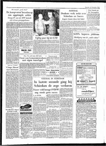 Rotterdamsch Parool / De Schiedammer 1955-11-14
