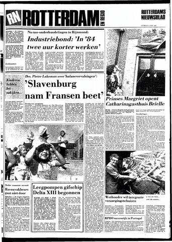 Rotterdamsch Nieuwsblad / Schiedamsche Courant / Rotterdams Dagblad / Waterweg / Algemeen Dagblad 1983-06-04