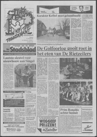 Het Nieuwe Stadsblad 1991-01-25