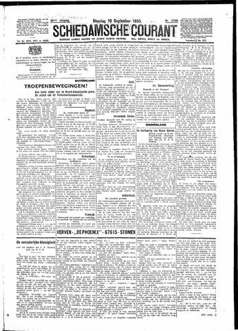 Schiedamsche Courant 1935-09-10