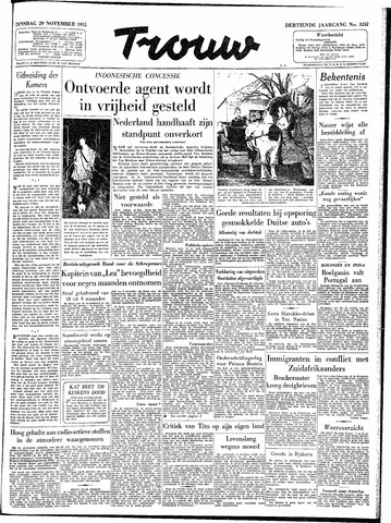 Trouw / De Rotterdammer 1955-11-29
