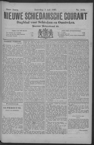 Nieuwe Schiedamsche Courant 1897-07-03