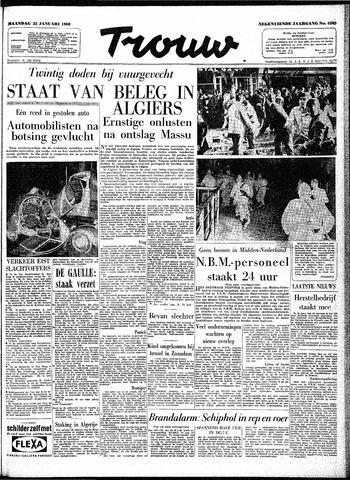 Trouw / De Rotterdammer 1960-01-25