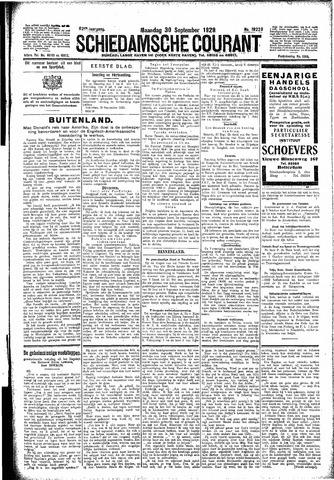 Schiedamsche Courant 1929-09-30