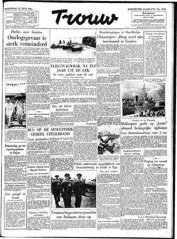 Trouw / De Rotterdammer 1955-07-27