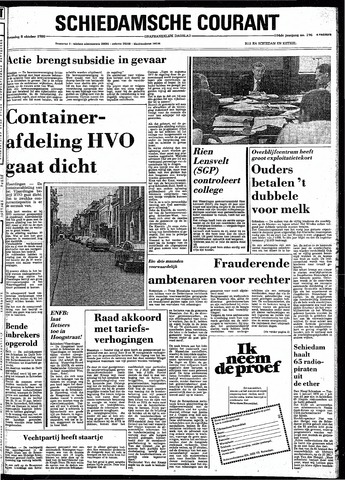 Rotterdamsch Nieuwsblad / Schiedamsche Courant / Rotterdams Dagblad / Waterweg / Algemeen Dagblad 1980-10-08