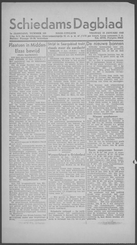 Schiedamsch Dagblad 1945-01-12