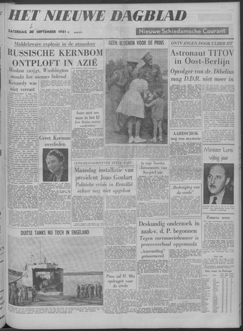 Nieuwe Schiedamsche Courant 1961-09-02