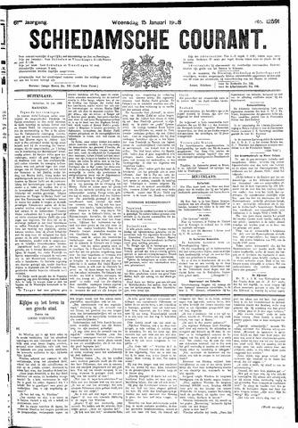 Schiedamsche Courant 1908-01-15