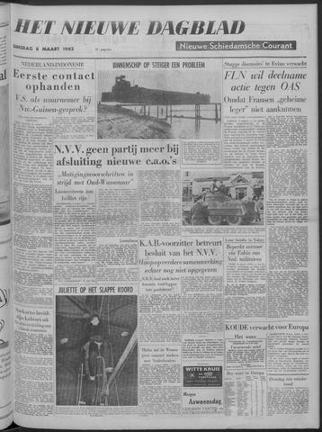 Nieuwe Schiedamsche Courant 1962-03-06