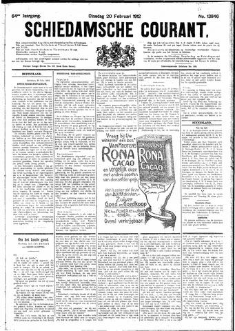 Schiedamsche Courant 1912-02-20