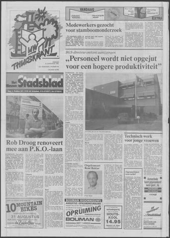 Het Nieuwe Stadsblad 1991-08-23