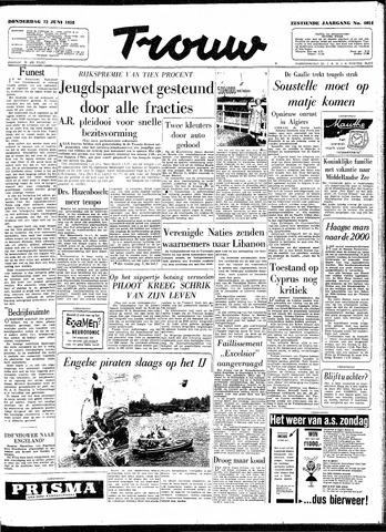 Trouw / De Rotterdammer 1958-06-12