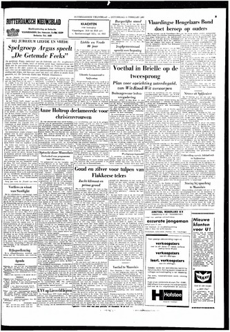 Rotterdamsch Nieuwsblad / Schiedamsche Courant / Rotterdams Dagblad / Waterweg / Algemeen Dagblad 1966-02-10