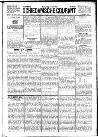 Schiedamsche Courant 1927-07-06