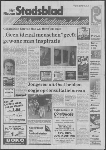 Het Nieuwe Stadsblad 1984-10-26