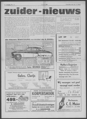 Zuider Nieuws 1963-07-25