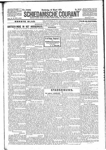 Schiedamsche Courant 1931-03-19