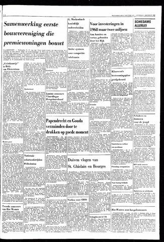 Rotterdamsch Nieuwsblad / Schiedamsche Courant / Rotterdams Dagblad / Waterweg / Algemeen Dagblad 1968-10-01