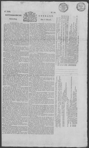 Rotterdamse Courant 1836-03-05