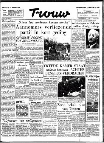 Trouw / De Rotterdammer 1960-03-16