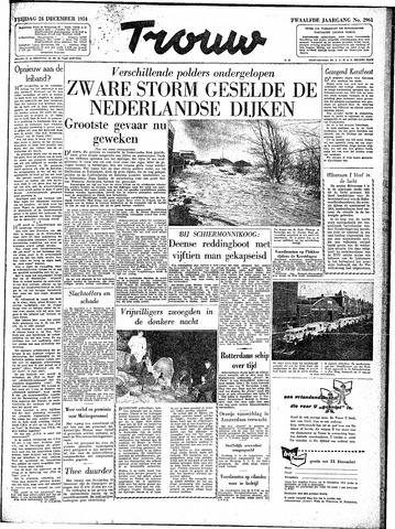 Trouw / De Rotterdammer 1954-12-24