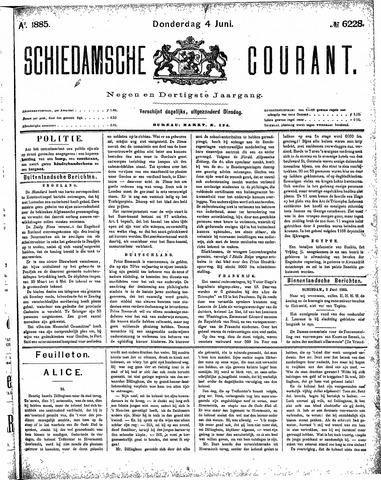 Schiedamsche Courant 1885-06-04
