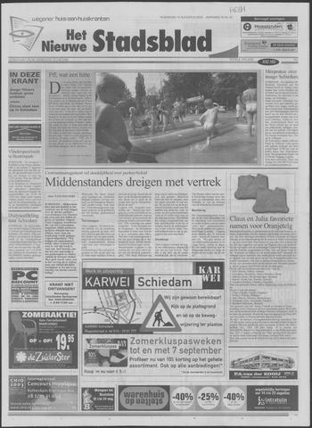 Het Nieuwe Stadsblad 2003-08-13