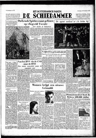 Rotterdamsch Parool / De Schiedammer 1949-11-19