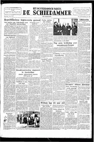 Rotterdamsch Parool / De Schiedammer 1947-06-07