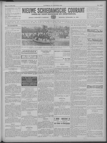 Nieuwe Schiedamsche Courant 1933-08-19