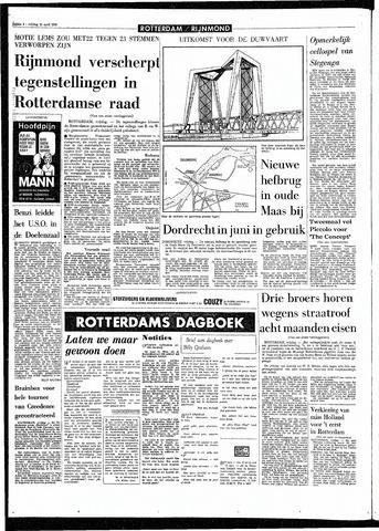 Rotterdamsch Parool / De Schiedammer 1970-04-10