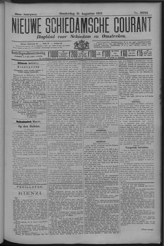 Nieuwe Schiedamsche Courant 1913-08-21