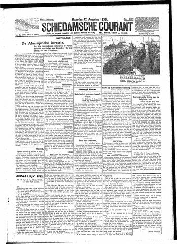 Schiedamsche Courant 1935-08-12