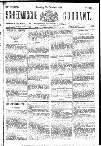 Schiedamsche Courant 1898-10-25
