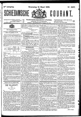 Schiedamsche Courant 1898-03-16