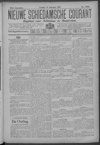 Nieuwe Schiedamsche Courant 1918-02-15