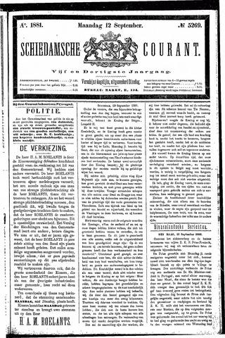 Schiedamsche Courant 1881-09-12