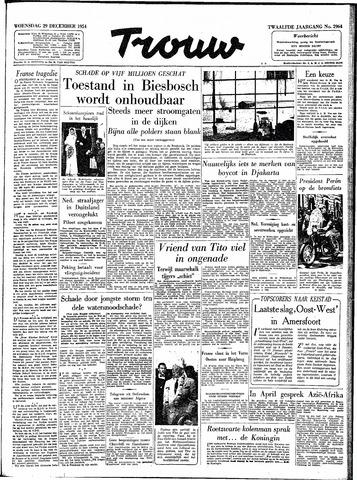 Trouw / De Rotterdammer 1954-12-29