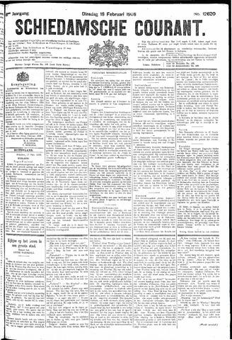 Schiedamsche Courant 1908-02-18