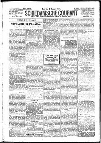 Schiedamsche Courant 1931-01-03