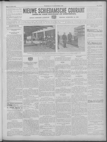 Nieuwe Schiedamsche Courant 1933-09-27