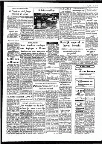 Rotterdamsch Parool / De Schiedammer 1955-12-08