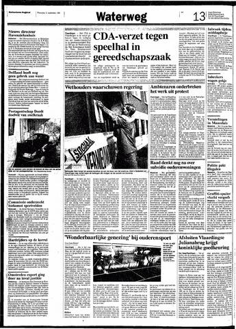 Rotterdamsch Nieuwsblad / Schiedamsche Courant / Rotterdams Dagblad / Waterweg / Algemeen Dagblad 1991-09-11