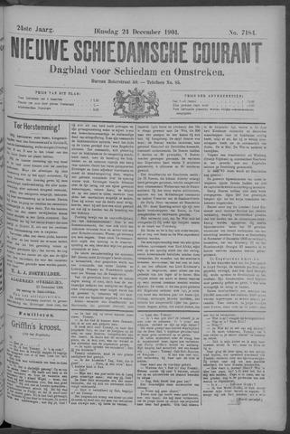 Nieuwe Schiedamsche Courant 1901-12-24