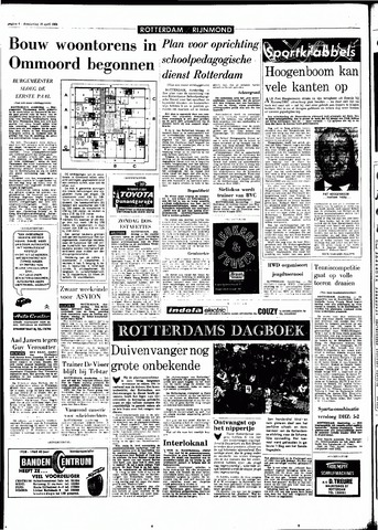 Rotterdamsch Parool / De Schiedammer 1968-04-18